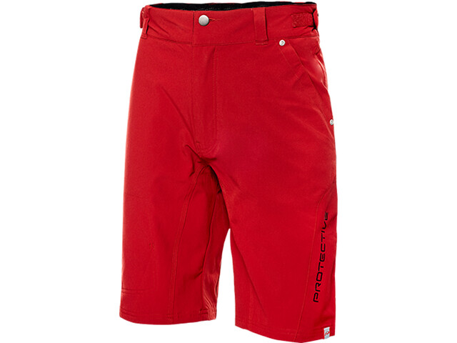 Protective Classico Baggy Shorts, dark red